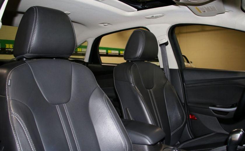 2014 Ford Focus Titanium A/C MAGS BLUETHOOT CUIR #26
