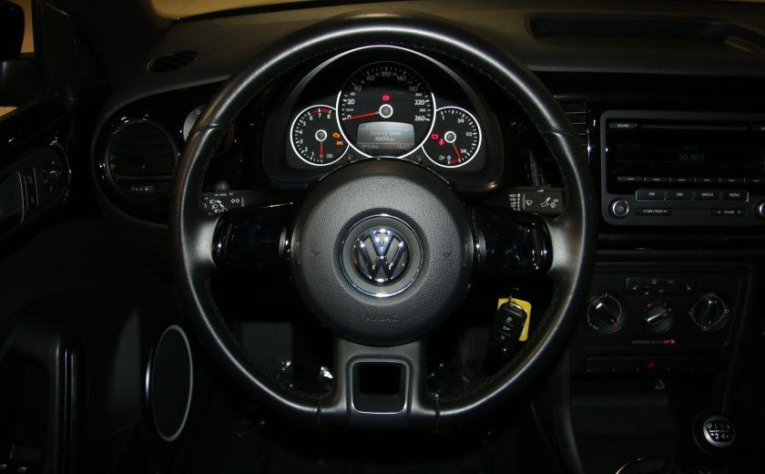 2012 Volkswagen BEETLE COMFORTLINE A/C. MAGS #14