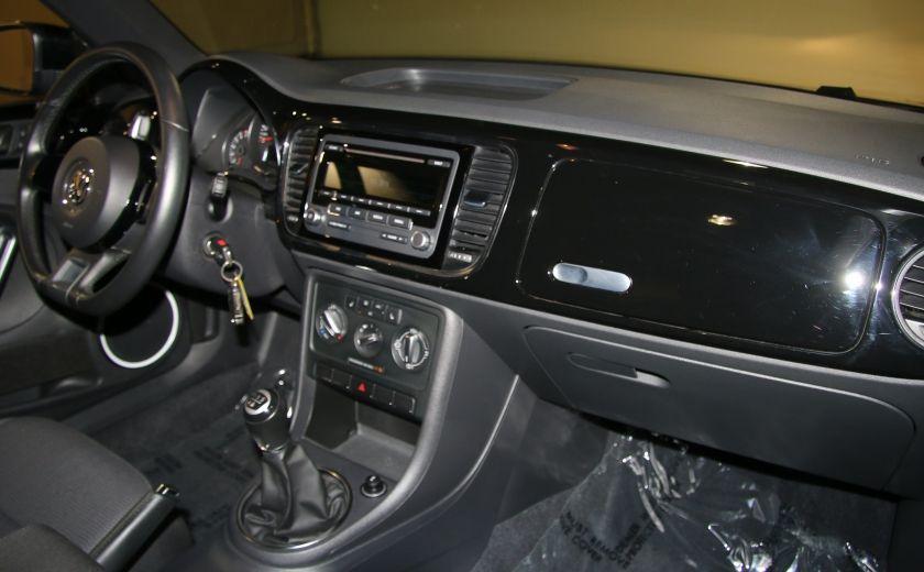 2012 Volkswagen BEETLE COMFORTLINE A/C. MAGS #20