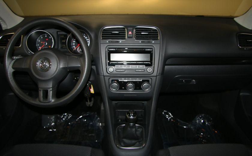 2012 Volkswagen Golf Trendline A/C MAGS #9