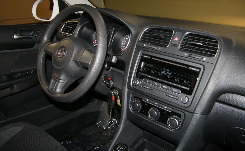 2012 Volkswagen Golf Trendline A/C MAGS #19