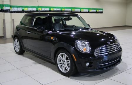 2011 Mini Cooper Classic AUTOMATIQUE A/C MAGS BLUETHOOT CUIR TOIT à New Richmond