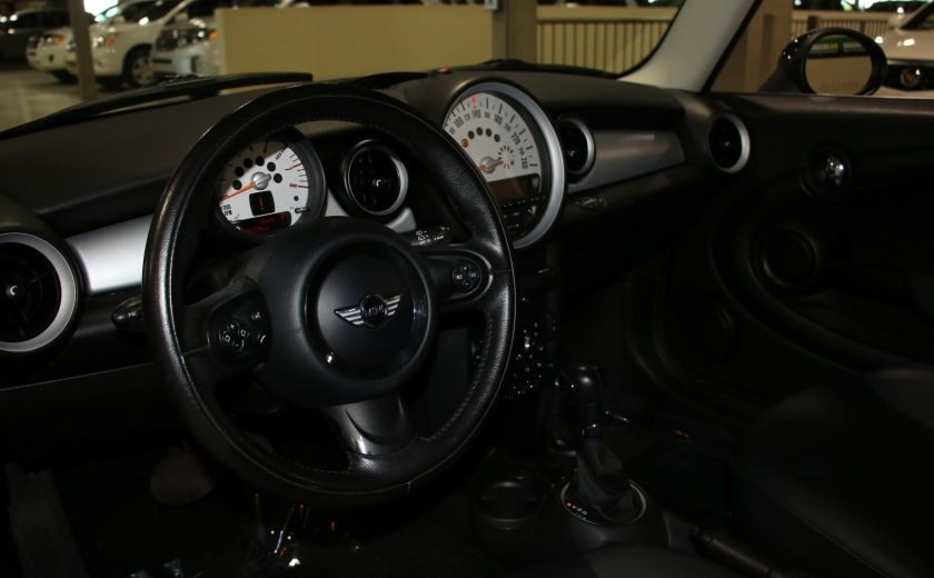 2011 Mini Cooper Classic AUTOMATIQUE A/C MAGS BLUETHOOT CUIR TOIT #8