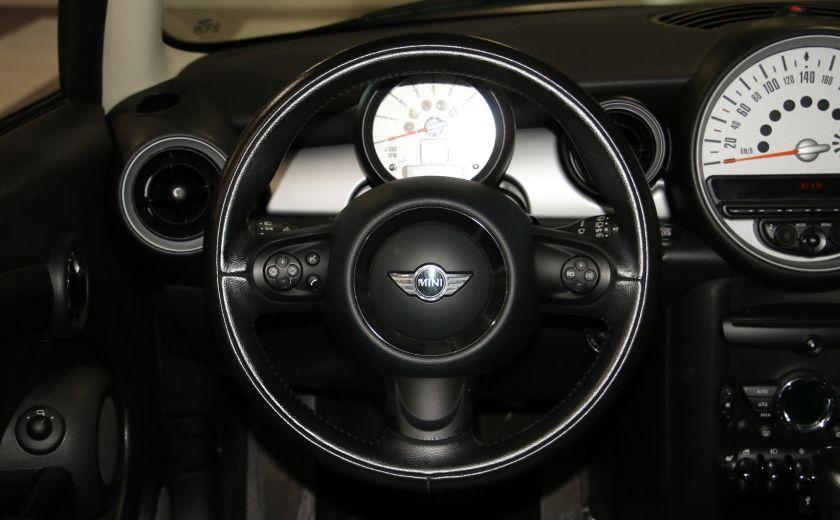 2011 Mini Cooper Classic AUTOMATIQUE A/C MAGS BLUETHOOT CUIR TOIT #12