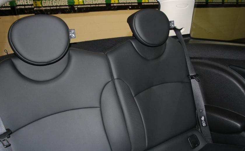 2011 Mini Cooper Classic AUTOMATIQUE A/C MAGS BLUETHOOT CUIR TOIT #15