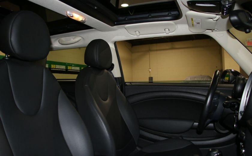 2011 Mini Cooper Classic AUTOMATIQUE A/C MAGS BLUETHOOT CUIR TOIT #18