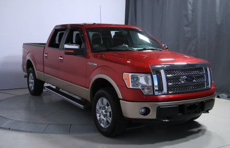 2012 Ford F150 Lariat 4WD CUIR TOIT MAGS BLUETOOTH à