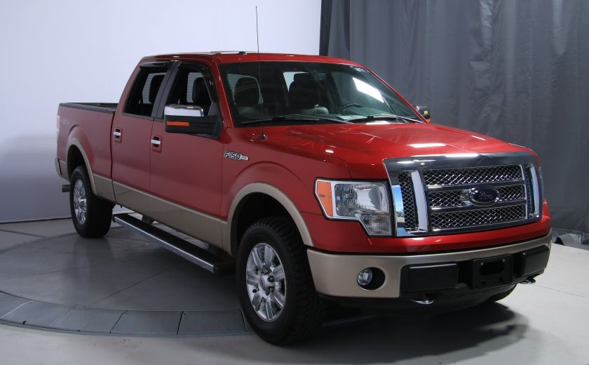 2012 Ford F150 Lariat 4WD CUIR TOIT MAGS BLUETOOTH #0
