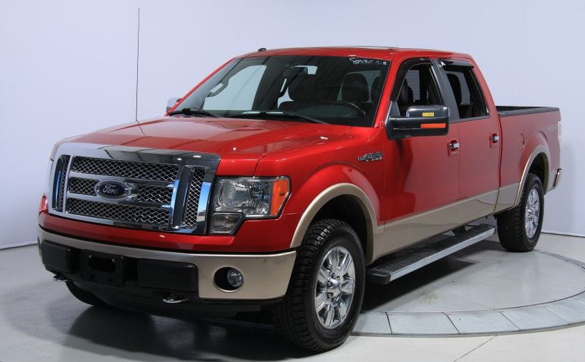 2012 Ford F150 Lariat 4WD CUIR TOIT MAGS BLUETOOTH #2