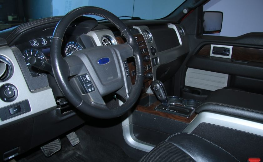 2012 Ford F150 Lariat 4WD CUIR TOIT MAGS BLUETOOTH #3