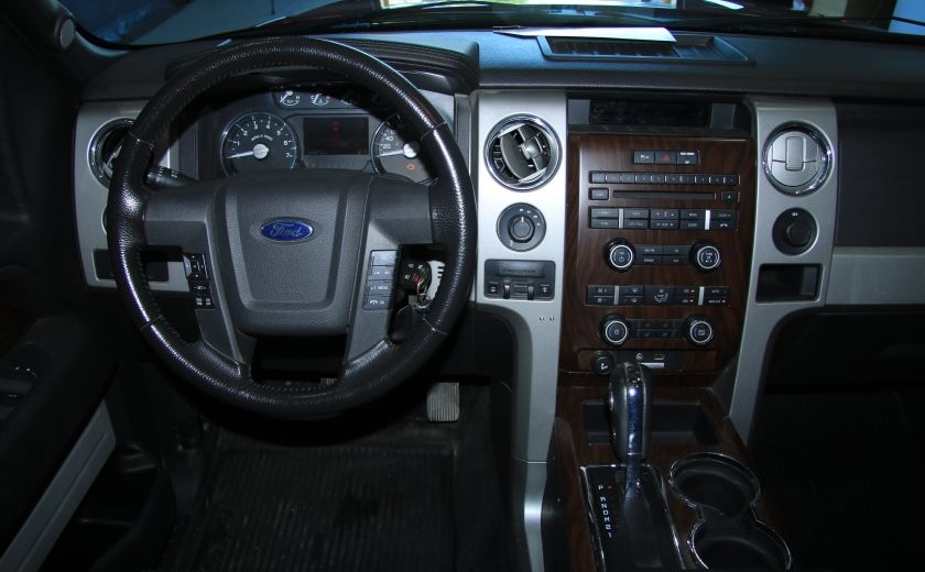 2012 Ford F150 Lariat 4WD CUIR TOIT MAGS BLUETOOTH #9
