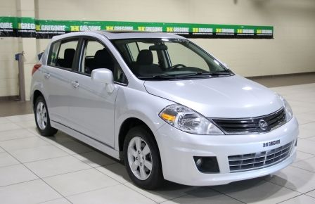 2011 Nissan Versa 1.8 SL A/C GR ELECT TOIT MAGS BLUETOOTH in Saint-Hyacinthe