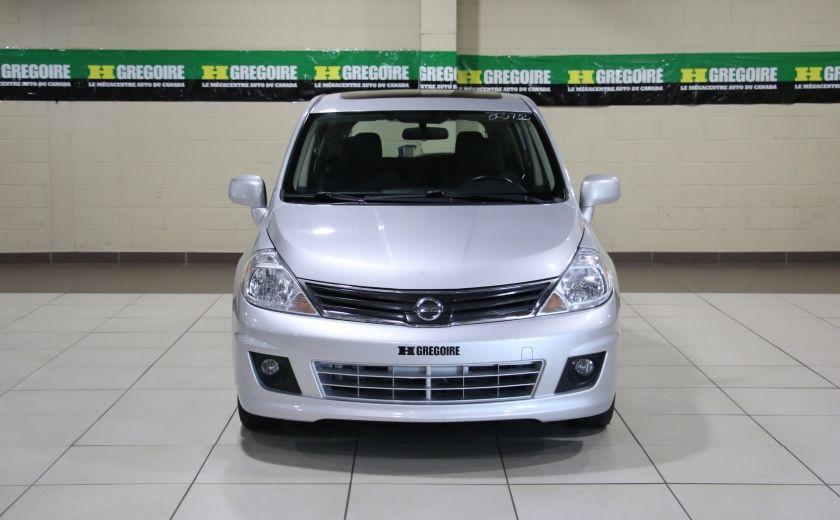 2011 Nissan Versa 1.8 SL A/C GR ELECT TOIT MAGS BLUETOOTH #1