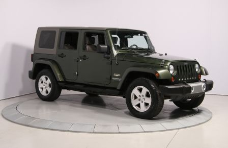 2008 Jeep Wrangler Unlimited Sahara 4WD A/C MAGS in Drummondville