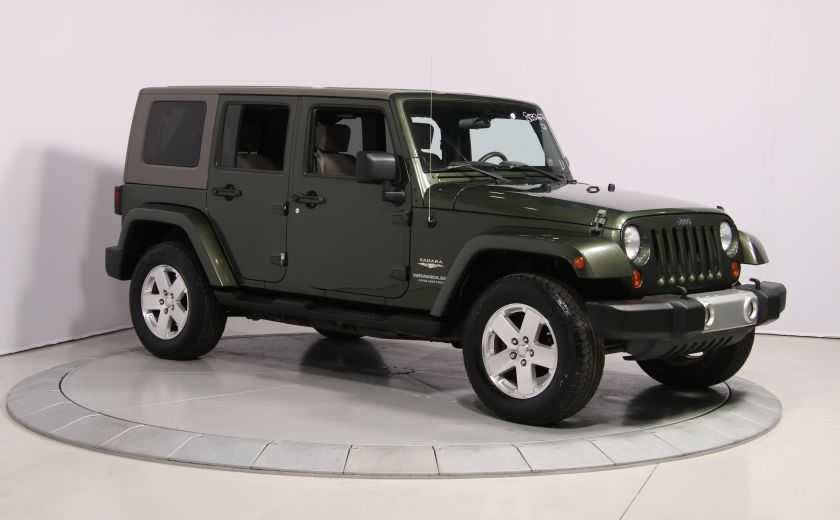 2008 Jeep Wrangler Unlimited Sahara 4WD A/C MAGS #0