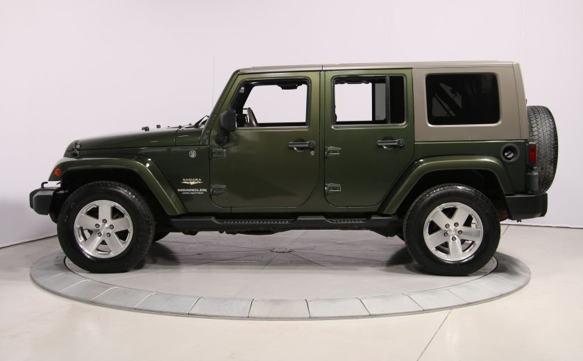 2008 Jeep Wrangler Unlimited Sahara 4WD A/C MAGS #3
