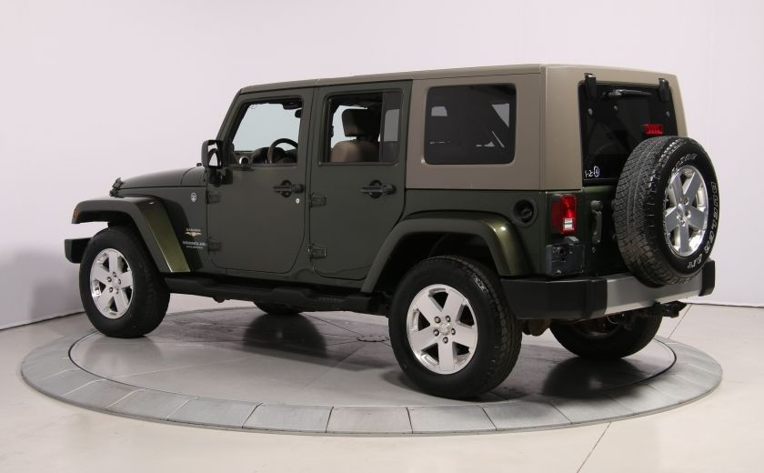 2008 Jeep Wrangler Unlimited Sahara 4WD A/C MAGS #4