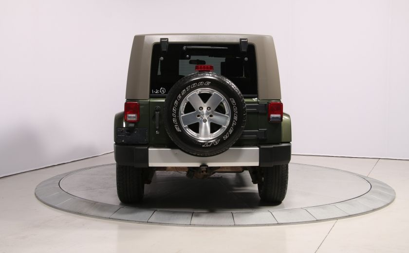 2008 Jeep Wrangler Unlimited Sahara 4WD A/C MAGS #5