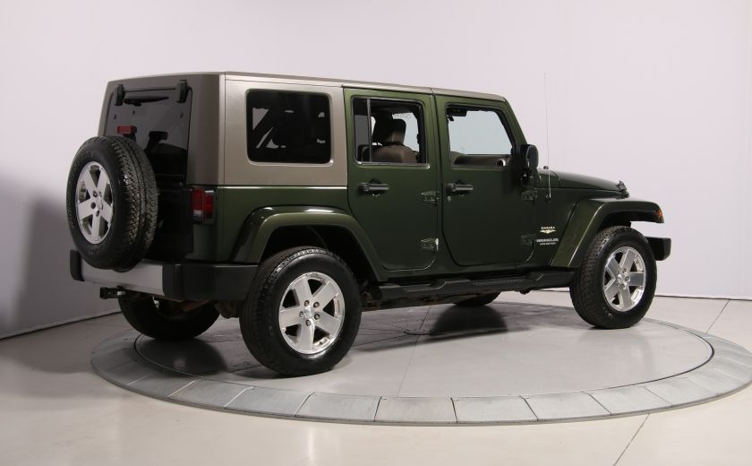 2008 Jeep Wrangler Unlimited Sahara 4WD A/C MAGS #6