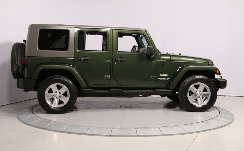 2008 Jeep Wrangler Unlimited Sahara 4WD A/C MAGS #7