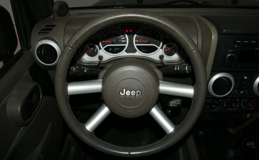 2008 Jeep Wrangler Unlimited Sahara 4WD A/C MAGS #12