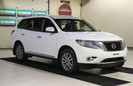 2014 Nissan Pathfinder SL AWD CUIR MAGS BLUETOOTH 7PASSAGERS in Estrie