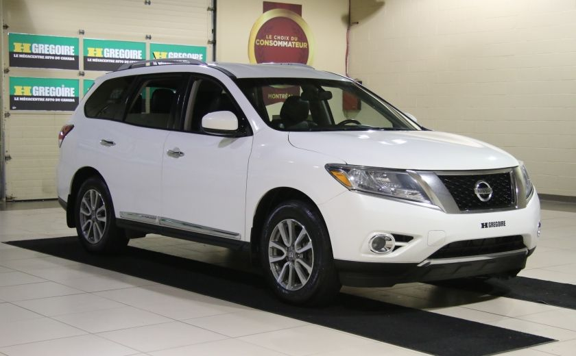 2014 Nissan Pathfinder SL AWD CUIR MAGS BLUETOOTH 7PASSAGERS #0