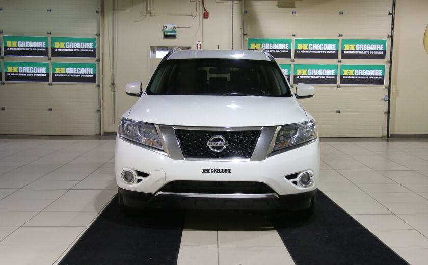 2014 Nissan Pathfinder SL AWD CUIR MAGS BLUETOOTH 7PASSAGERS #1