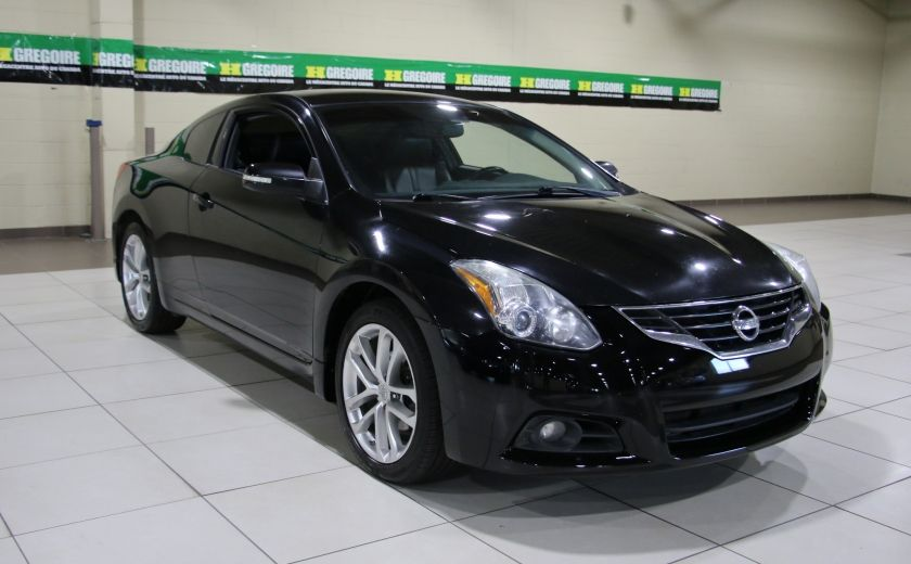 2012 Nissan Altima COUPE SR V6  6 VITESSES CUIR TOIT MAGS #0