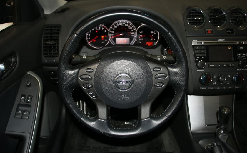 2012 Nissan Altima COUPE SR V6  6 VITESSES CUIR TOIT MAGS #14