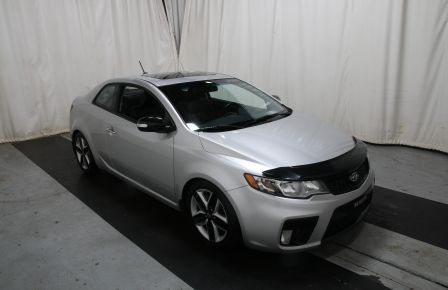 2010 Kia Forte SX A/C CUIR GR ELECT TOIT MAGS BLUETOOTH in Blainville