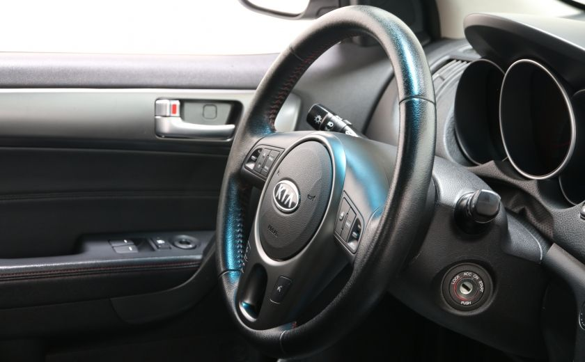 2010 Kia Forte SX A/C CUIR GR ELECT TOIT MAGS BLUETOOTH #19