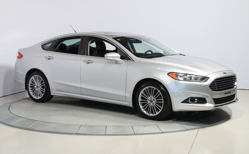 2013 Ford Fusion SE AUTO A/C MAGS  CUIR TOIT NAV #0