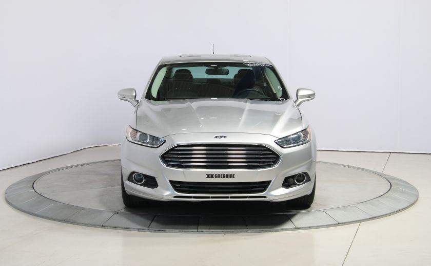 2013 Ford Fusion SE AUTO A/C MAGS  CUIR TOIT NAV #1