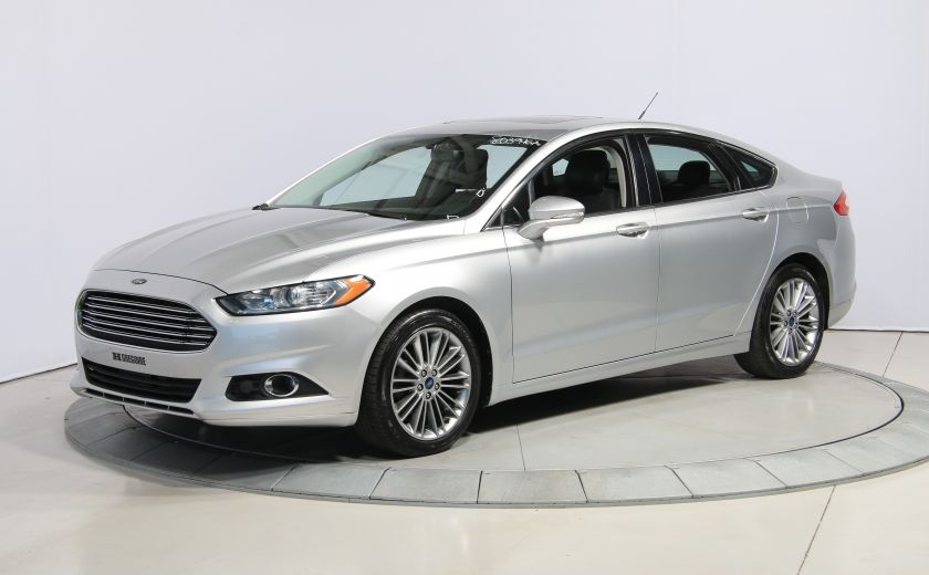 2013 Ford Fusion SE AUTO A/C MAGS  CUIR TOIT NAV #2