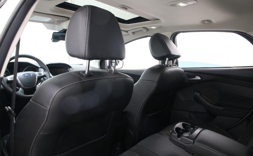 2012 Ford Focus Titanium A/C CUIR TOIT NAV MAGS #16