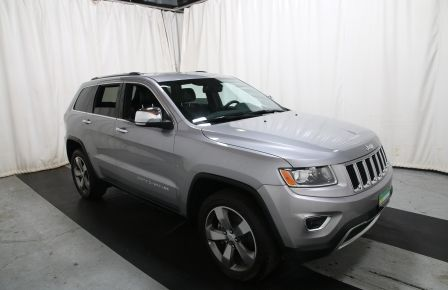 2015 Jeep Grand Cherokee Limited 4X4 A/C CUIR TOIT NAV MAGS in Drummondville