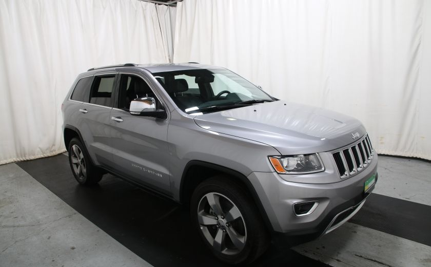 2015 Jeep Grand Cherokee Limited 4X4 A/C CUIR TOIT NAV MAGS #0