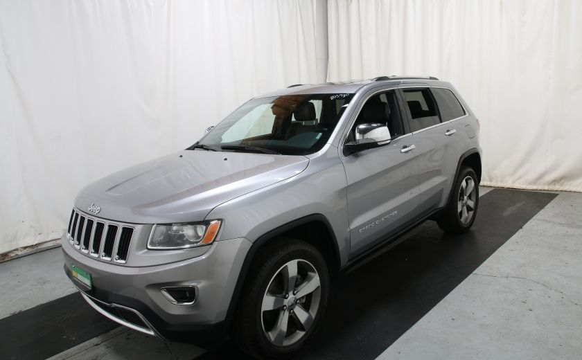 2015 Jeep Grand Cherokee Limited 4X4 A/C CUIR TOIT NAV MAGS #2