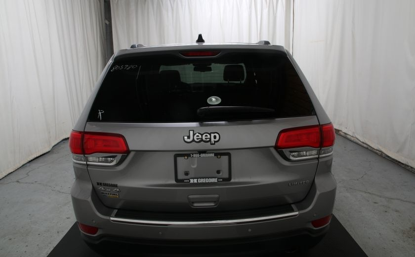 2015 Jeep Grand Cherokee Limited 4X4 A/C CUIR TOIT NAV MAGS #4