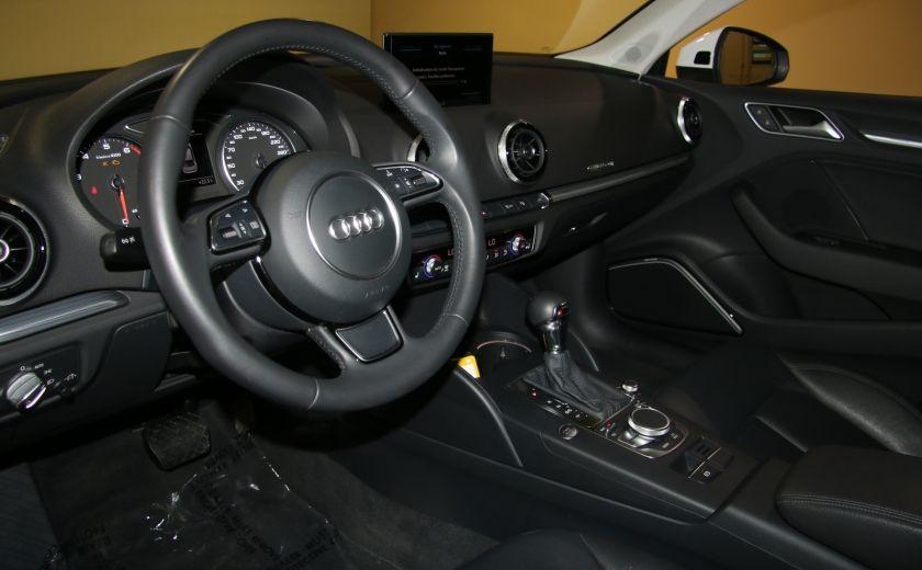 2015 Audi A3 2.0T QUATTRO Prestige AUTOMATIQUE A/C MAGS BLUETHO #8