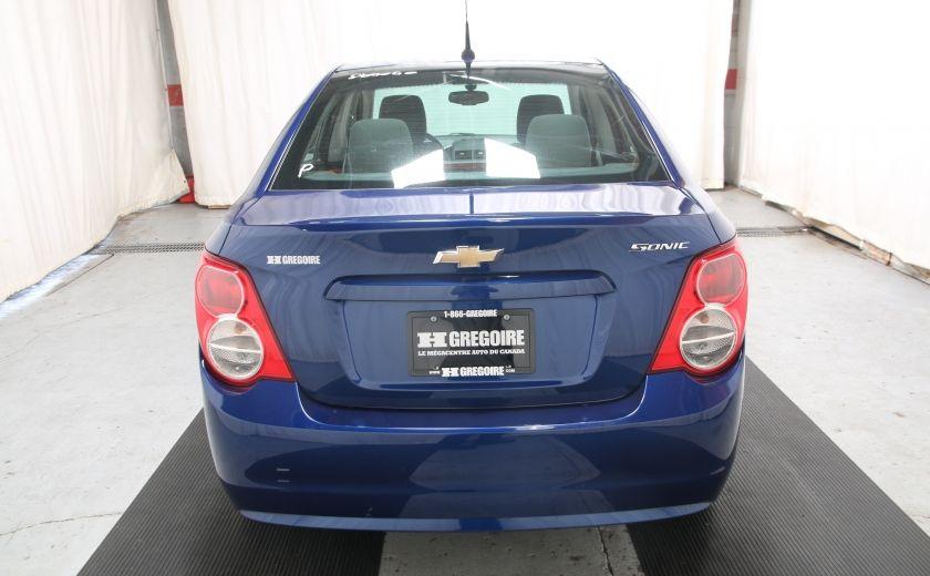 2014 Chevrolet Sonic LS A/C BAS KILOS BLUETOOTH #4