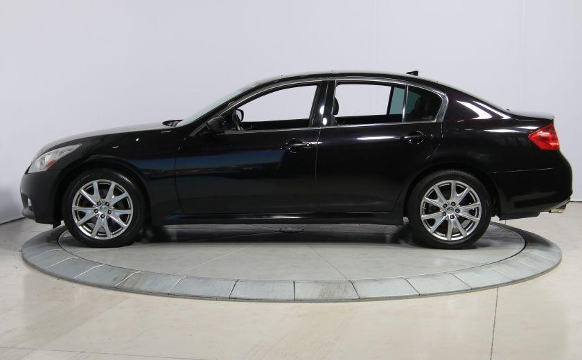 2012 Infiniti G37 Sport AWD AUTO CUIR TOIT MAGS BLUETOOTH #3