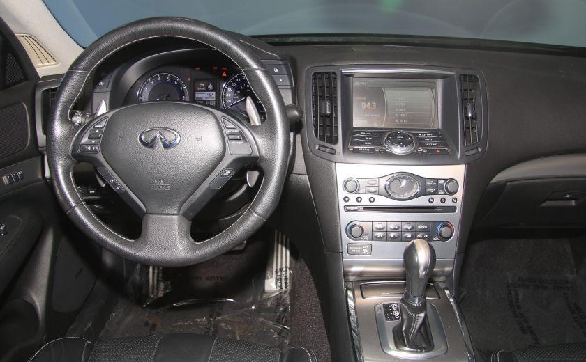 2012 Infiniti G37 Sport AWD AUTO CUIR TOIT MAGS BLUETOOTH #14