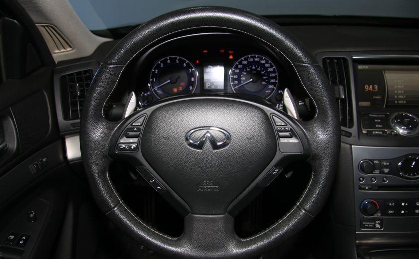 2012 Infiniti G37 Sport AWD AUTO CUIR TOIT MAGS BLUETOOTH #15