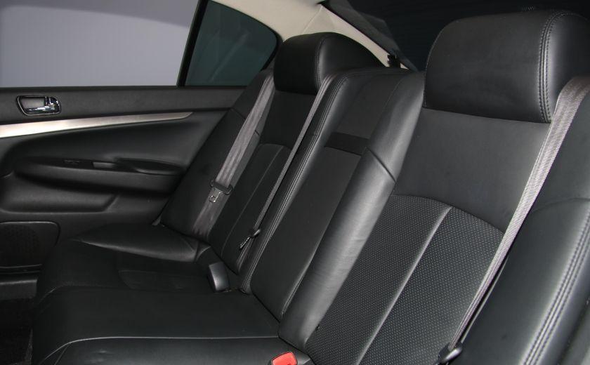 2012 Infiniti G37 Sport AWD AUTO CUIR TOIT MAGS BLUETOOTH #23