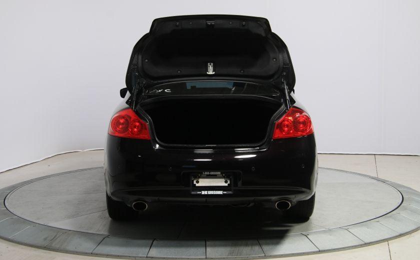 2012 Infiniti G37 Sport AWD AUTO CUIR TOIT MAGS BLUETOOTH #31