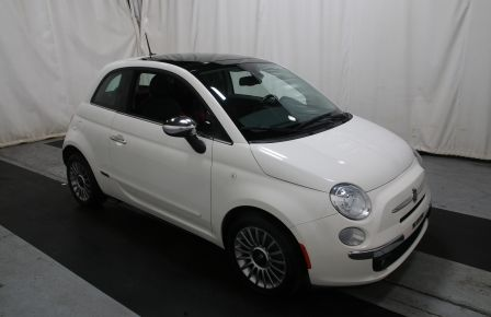 2012 Fiat 500 Lounge A/C CUIR TOIT MAGS BLUETOOTH à New Richmond