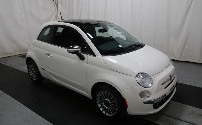2012 Fiat 500 Lounge A/C CUIR TOIT MAGS BLUETOOTH #0