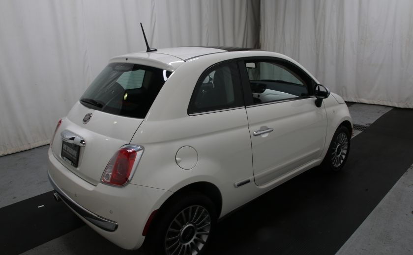 2012 Fiat 500 Lounge A/C CUIR TOIT MAGS BLUETOOTH #5